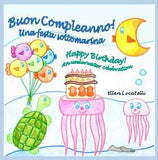 Buon Compleanno! Una festa sottomarina -  Happy Birthday! An underwater celebration.
