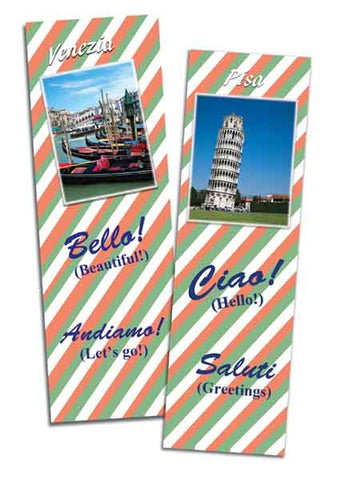 Bilingual Bookmarks in Italian and English
