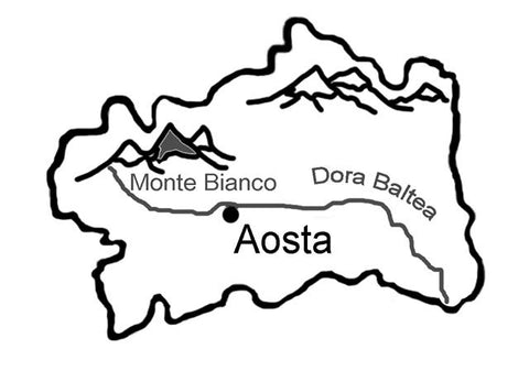 Aosta Region - Bilingual text in italian and English, with language activities