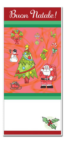 Christmas Bookmarks/Cards - Pack of 10 with envelopes