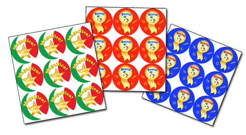 Italian Language School Reward Stickers/Merit Stickers - Set #2