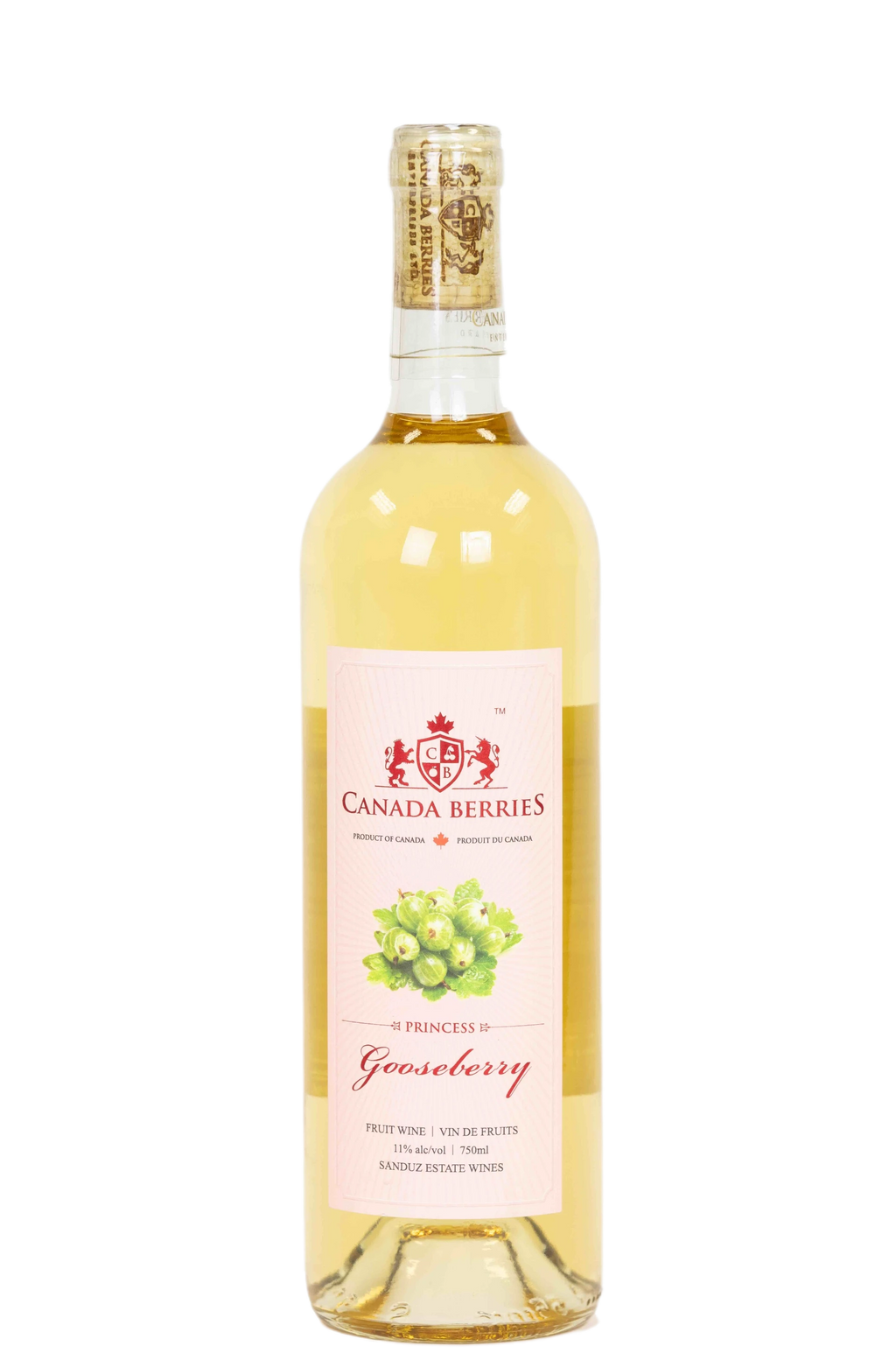 Princess Gooseberry Wine 750ml