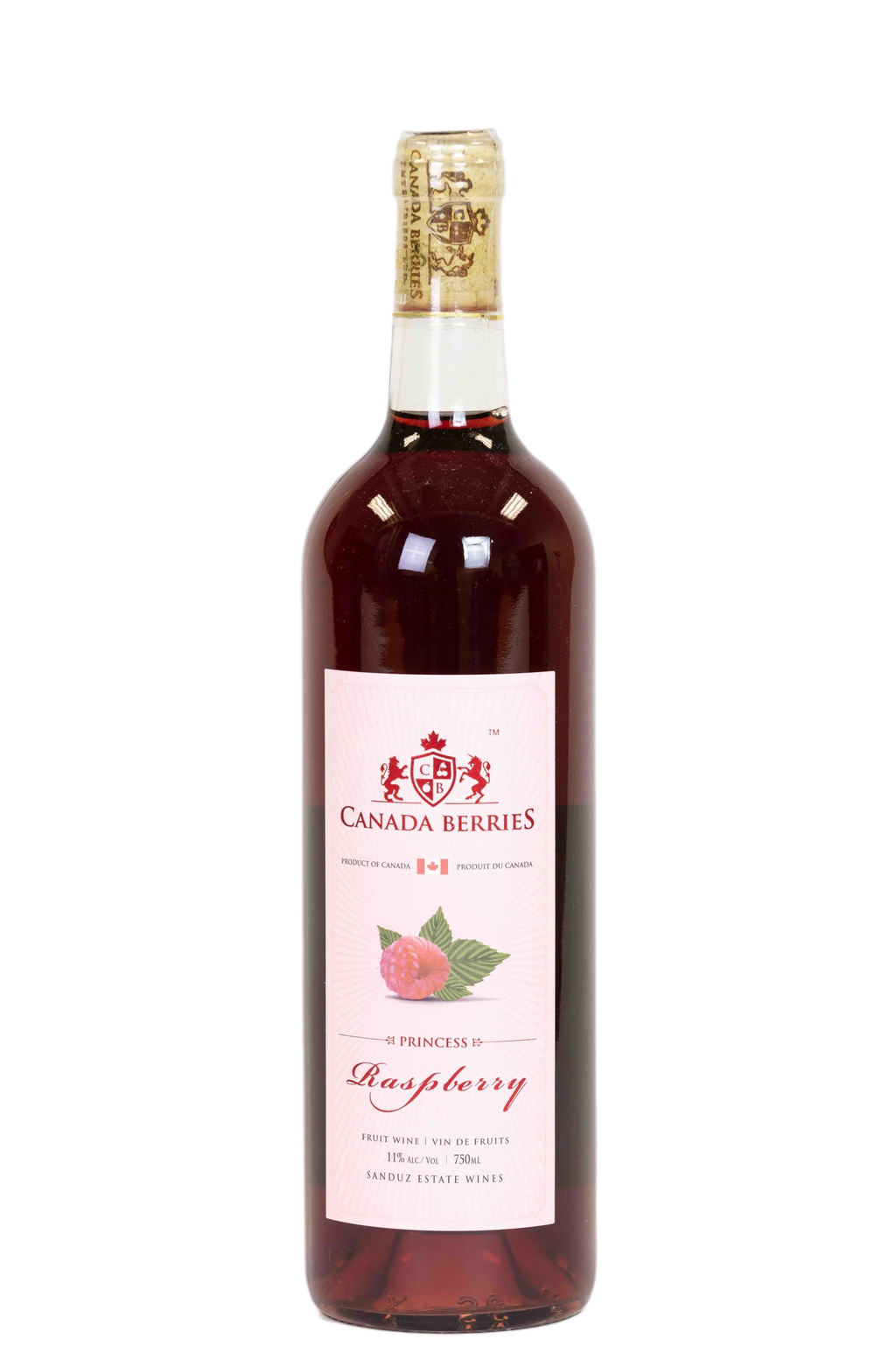 Princess Raspberry Wine 750ml