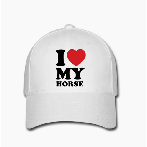 Adjustable 'I Love My Horse' Hat,[shop.name], trend, gift, valentines, ring, promise ring