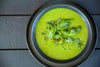 GREEN PEA AND HERB SOUP