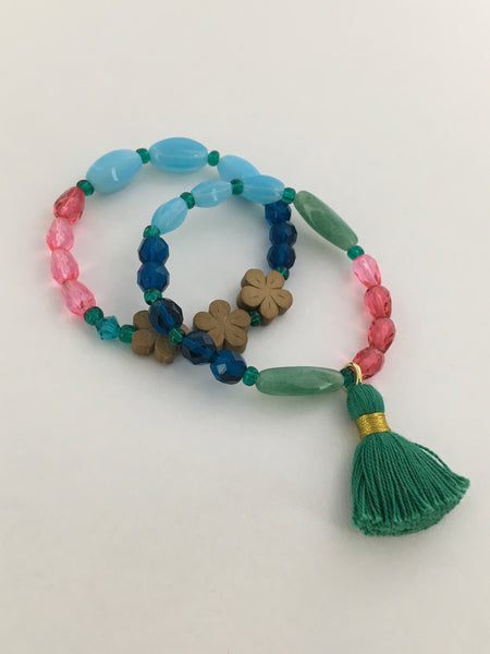 Bright Colored Bracelet Set