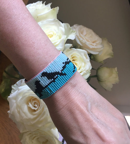 Birds on a wire Bracelet