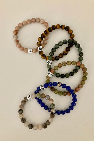 Zodiac Bracelets Jul-Dec