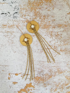 Selena Tassel Earrings