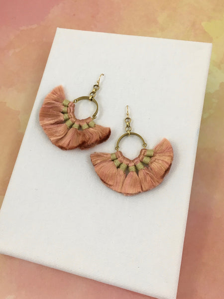 Marta Fan Drop Earrings