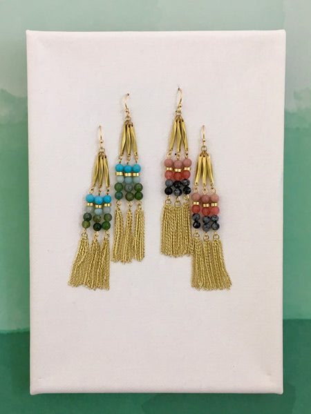 Sylvie Linear Earrings