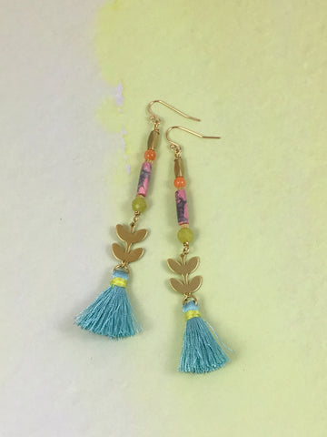 Charlotte Tassel Earrings