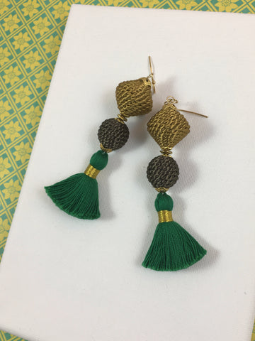 Gabrielle Tassel Earrings