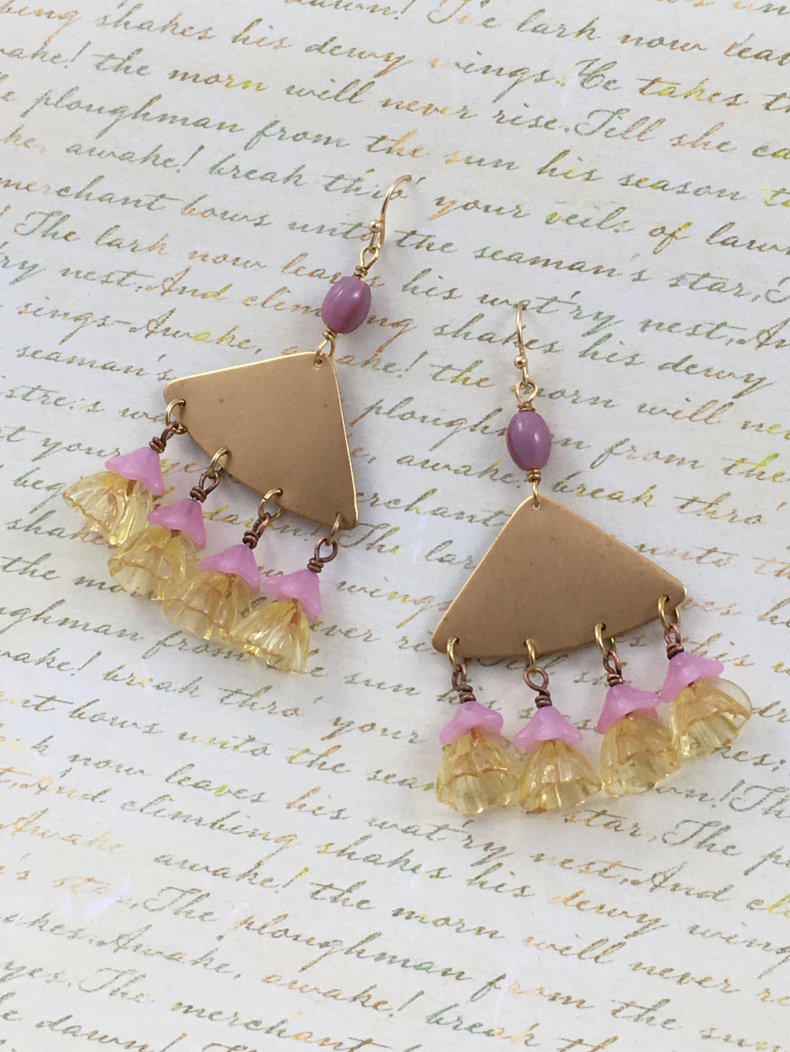 Weeping Cherry Earrings
