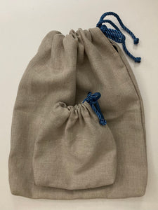 Linen Pouch - Set of 2