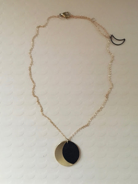 Moon Drop Necklace