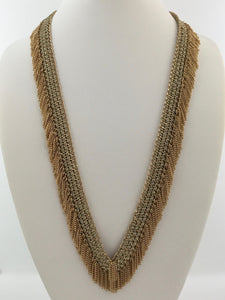 Alexandrine Fringe Necklace