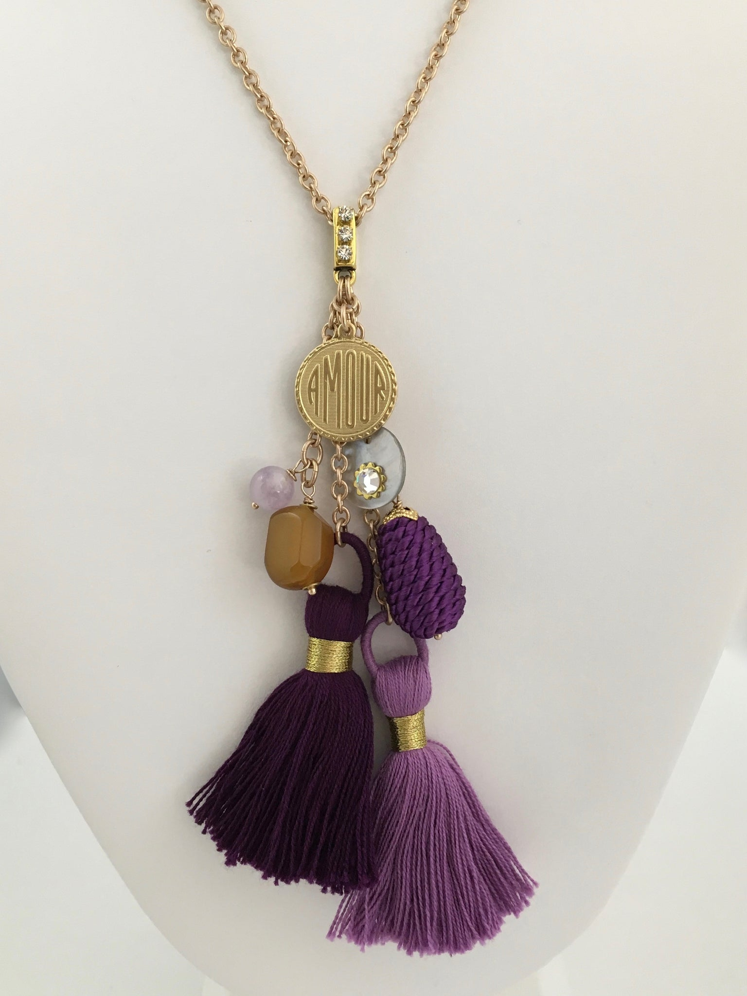 Amour Summer Tassel Necklace
