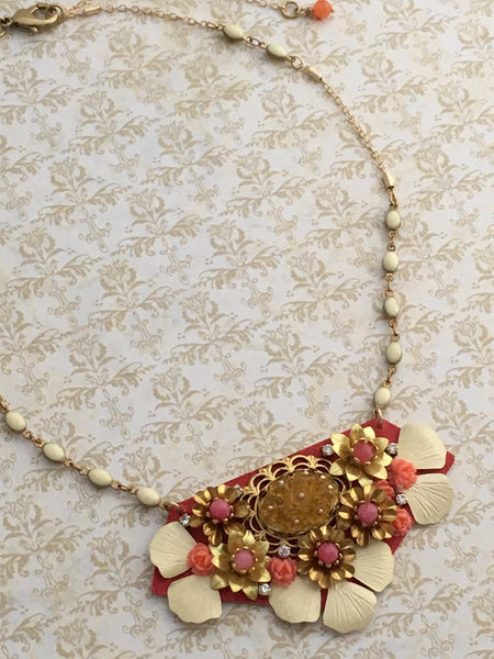 Suspended Garden Necklace