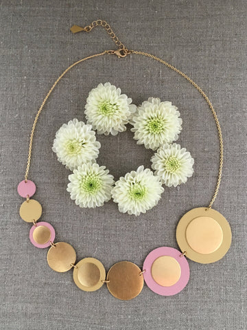 Reversible Circle Necklace