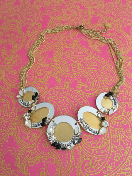 Mirrored Necklace