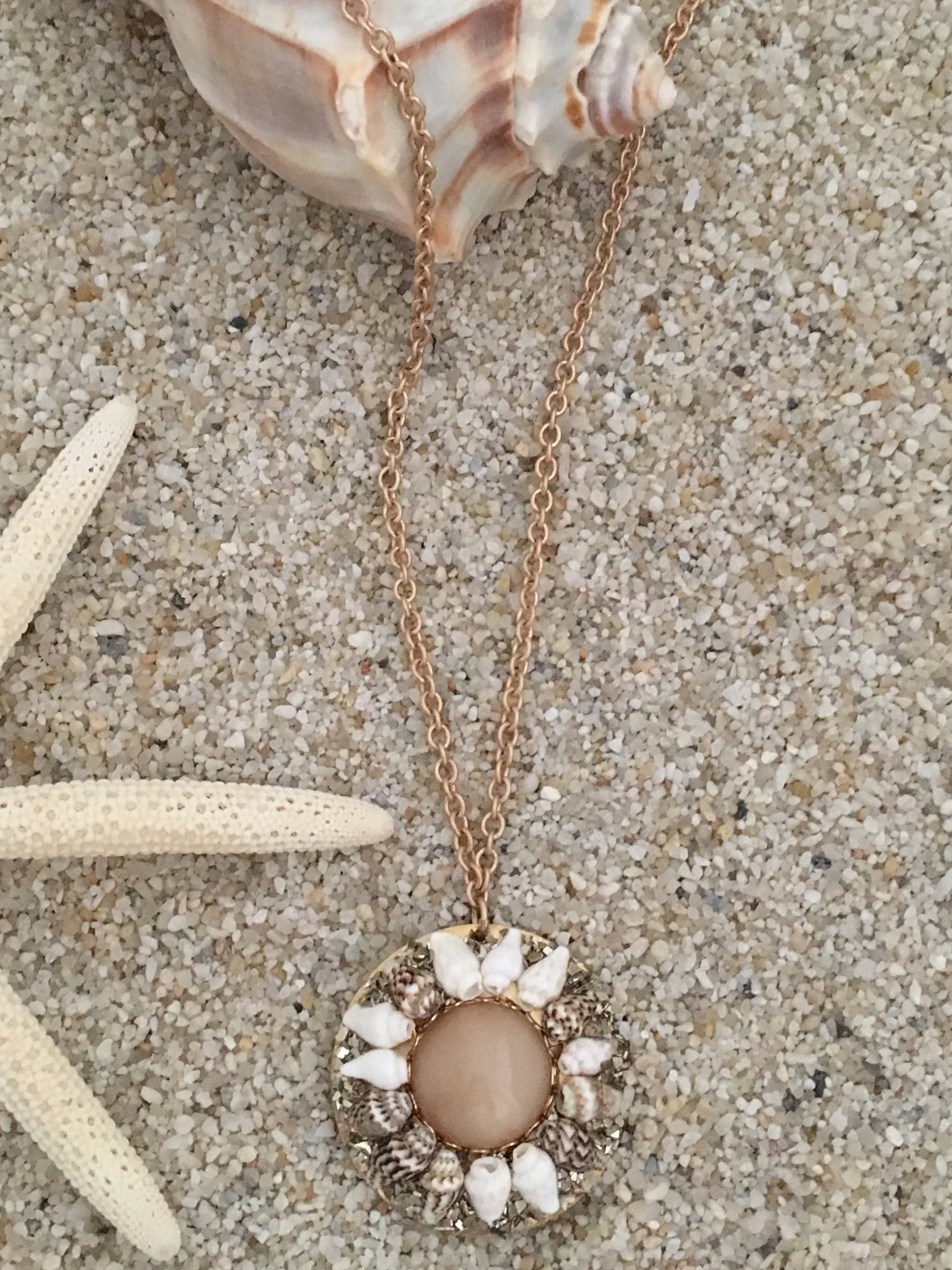 Seashore Medallion Necklace