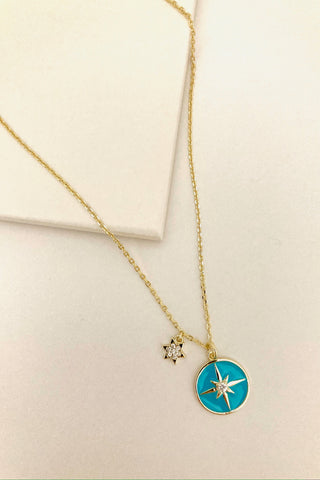 Star Duo Necklace