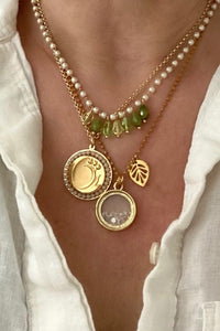 handmade necklace set. Pop Renaissance Collection