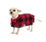 Red Plaid Poncho w/ Bow