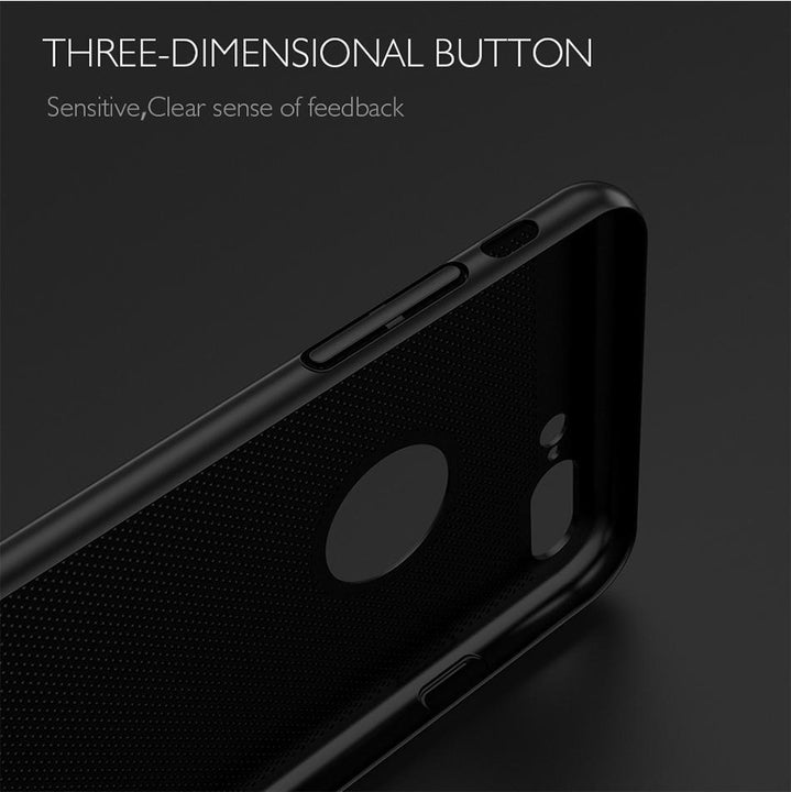 CNS Deals Phone Case Floveme Luxury Hollow Phone Case for iPhone X 8 7 6 5