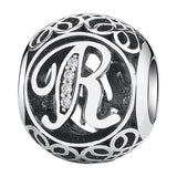 CNS Deals - The Deals Are Here Charm R Vintage A to Z 26 Letter Alphabet Bead Charms for Bracelets & Bangles