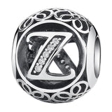 CNS Deals - The Deals Are Here Charm Z Vintage A to Z 26 Letter Alphabet Bead Charms for Bracelets & Bangles