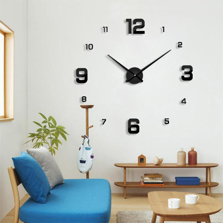 CNS Deals Wall Clock Mirror 3D DIY Wall Clock with Unique Designs