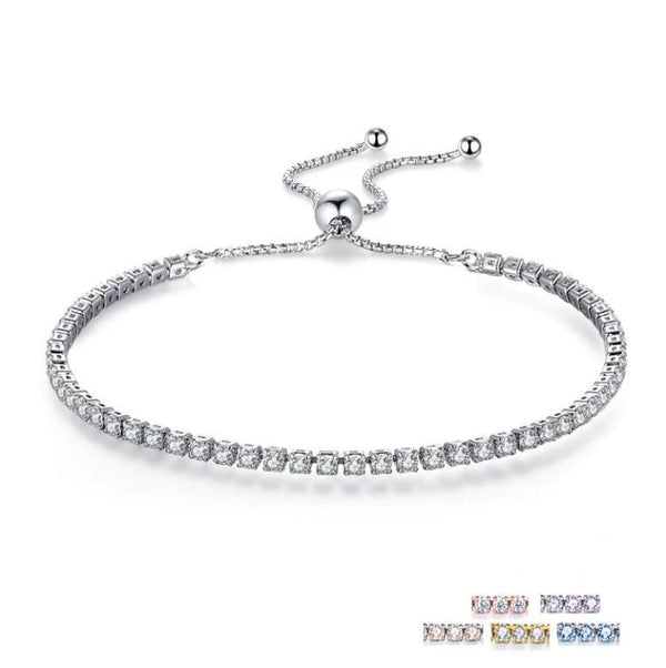 Trails in The Sky Genuine 925 Sterling Silver Luxury Bracelet K01