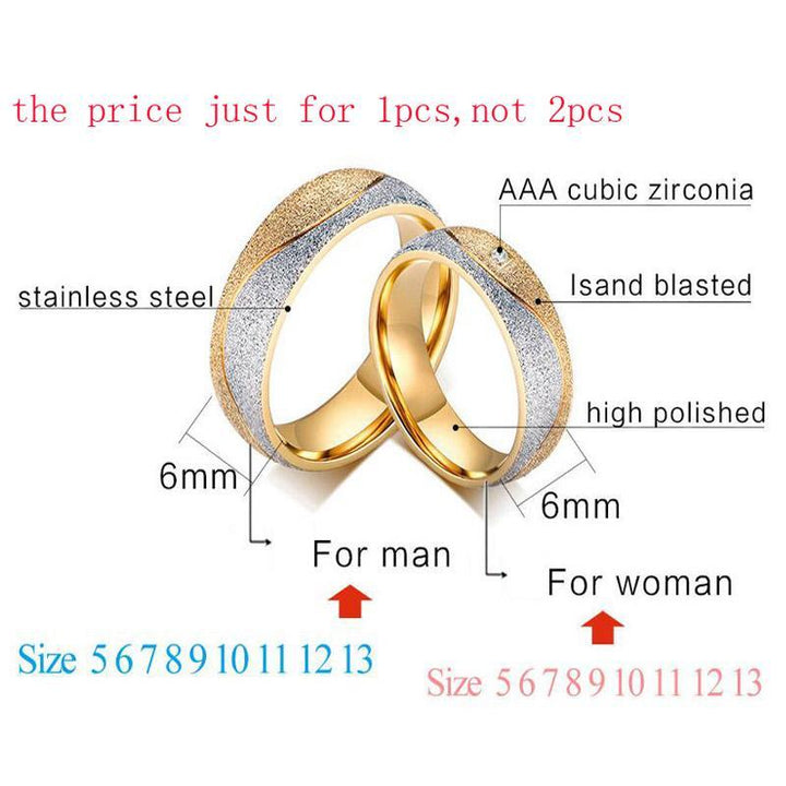 CNS Deals Women Ring Sand Blasted Gold Plated Ring for Men and Women