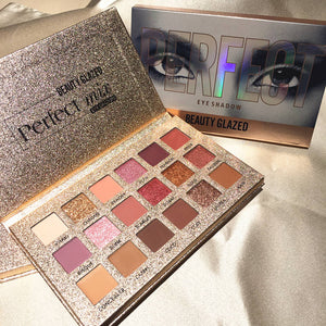 Natural Long Lasting Matte & Shimmer Eyeshadow Palette
