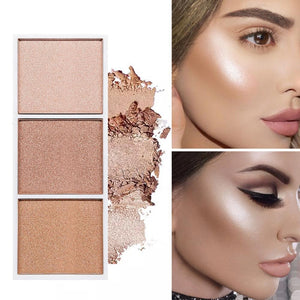 4 Colours Highlighter Palette