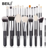 Complete Professional Make Up Brush Set with Goat Hair