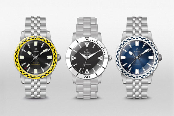 The Zodiac Sea Wolf 'Topper Edition' Series II Watches Co-Designed by Robert Caplan and Eric Singer