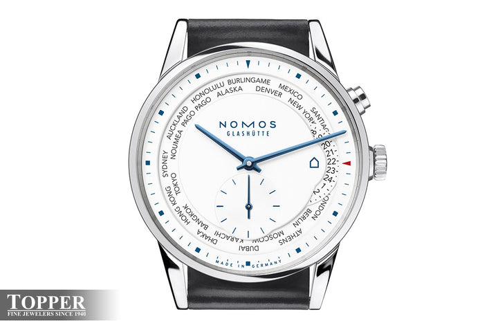 Introducing the Nomos Zurich Worldtimer Topper Edition