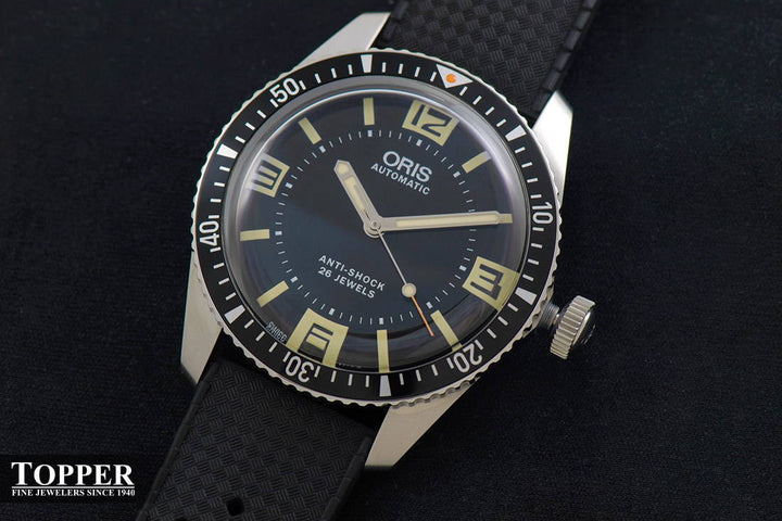 The Oris Divers Sixty-Five Topper Edition