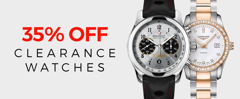Clearance Watches 35% Off