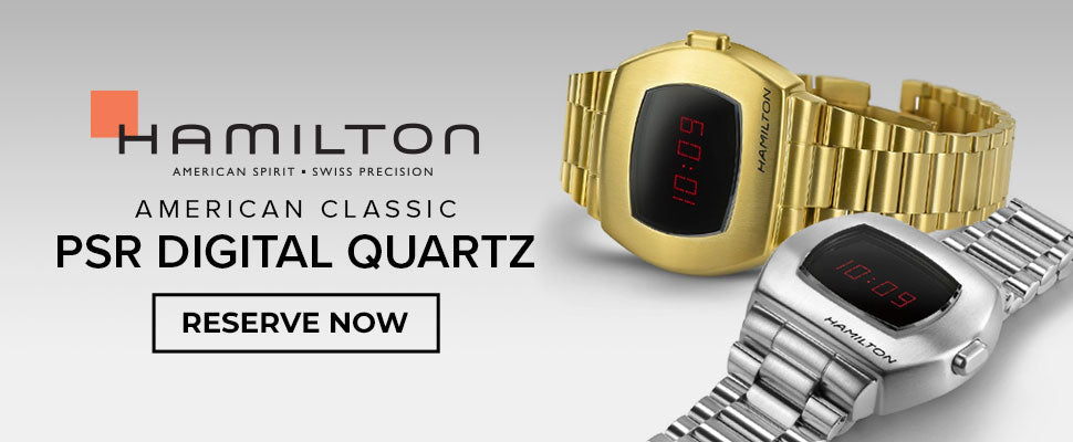 The Hamilton PSR Digital Quartz