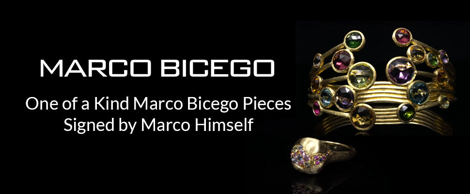 One of a Kind Marco Bicego Pieces Signed by Marco Himself