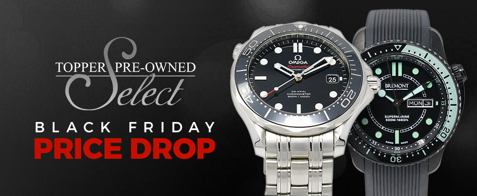 Topper Pre-Owned Select Black Friday Price Drop