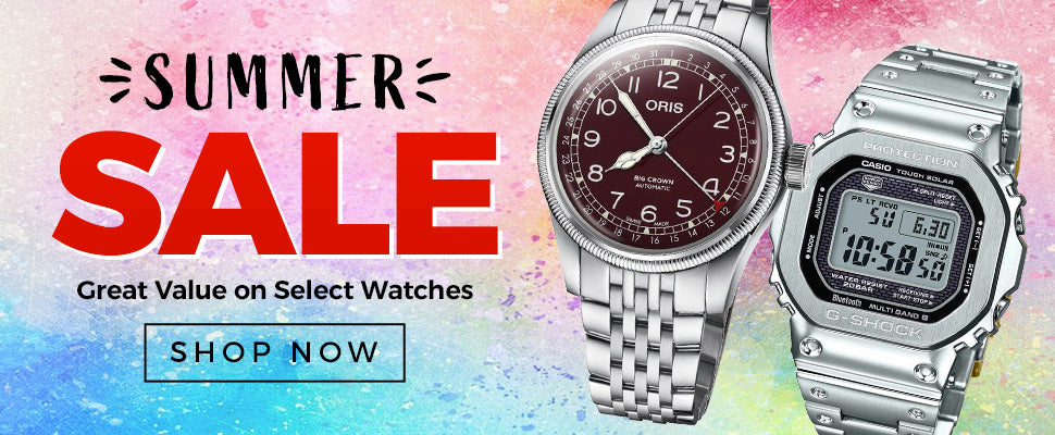 Summer Sale - Great Value on Select Watches