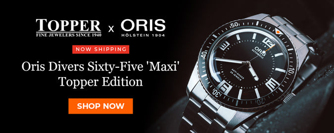 Oris Divers Sixty-Five 'Maxi' Topper Edition