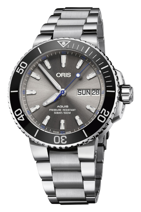 Oris Aquis Hammerhead Limited Edition 01 752 7733 4183-Set MB