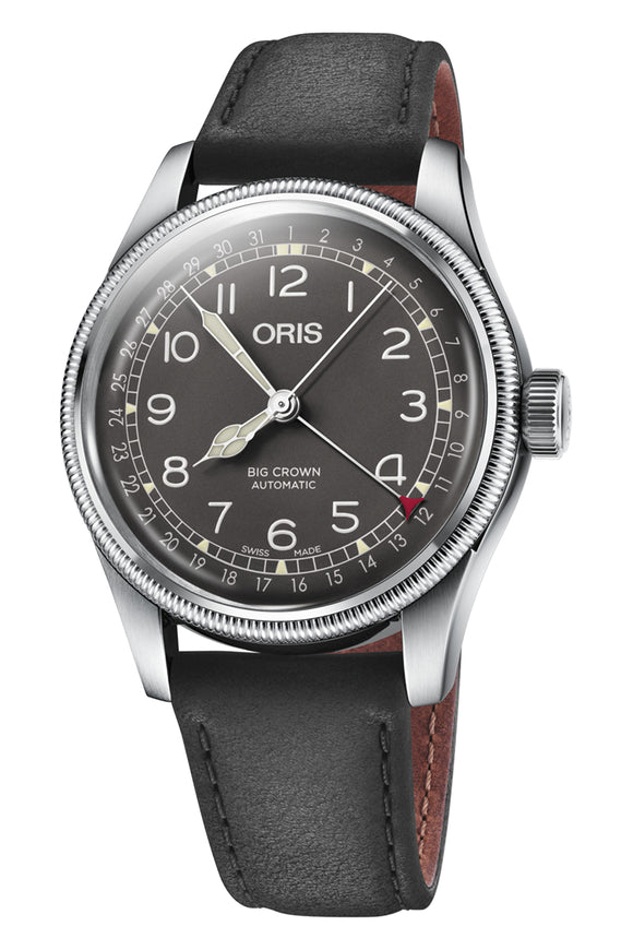 Shop-Worn Oris Big Crown Pointer Date 01 754 7741 4064-07 5 20 65