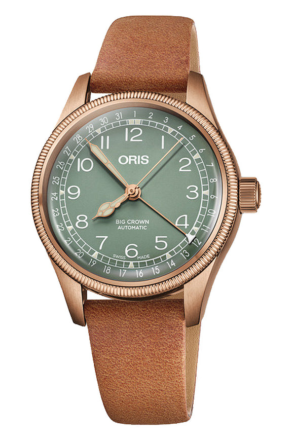 Oris Big Crown Pointer Date Bronze 01 754 7749 3167 LS
